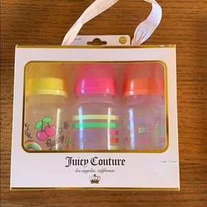 Juicy Couture Baby Bottle Set